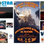 01_pohlednice a plakát Zimní táboření na Hvězdě