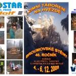 02Pohlednice a plakát Zimní táboření na Hvězdě 2009