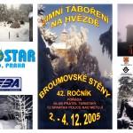 Plakát zimní táboření na Hvězdě - JPG