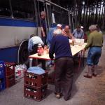 Rejpalové zajišťovali občerstvení na trati