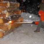 Zimní táboření 2010 - sobota - 09