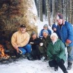 img963-harda-vtipil-olina-duchatschova-pavel-duchatsch-lubos-andrys-chlap-v-modre-bunde-a-deti-neznam-silvestrovskej-vejslap-2001